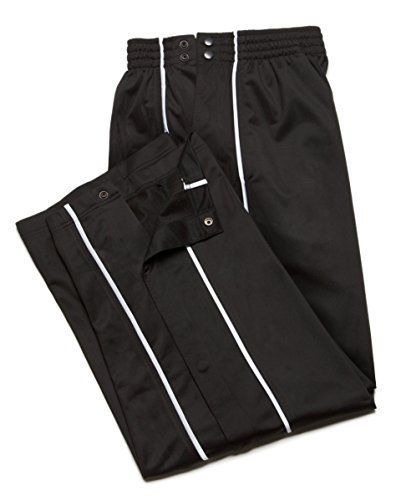 """NEW $45 JJB Warm Up Track Training Basketball Pants XXL. XX-Large. Variation Attributes: (Black, White Accent)Color, (XX Large)Size. XXL: W 33"""", S 60"""", R 13"""" / 100% Polyester. The contrasting white side insert panel gives this JJB warm-up pant the classic athletic style. Xl W 31., S 57"""", R 13"""". This JJB Athletic Warm-Up Pant features full elastic ribbing around the waistband with side clips for easy on and off access. Inseam 31"""" to 33"""". Fully lined. S: W 26"""", S 48"""", R 12."""