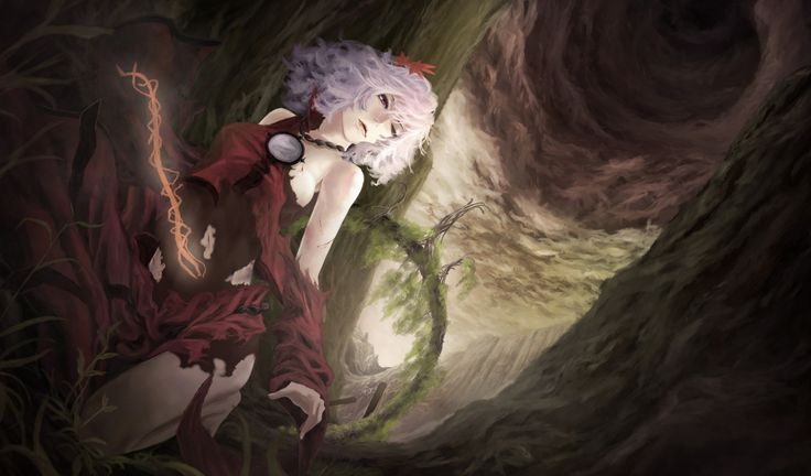 free screensaver wallpapers for touhou - touhou category