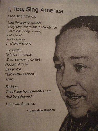 From The Collected Poems of Langston Hughes, published by Knopf and Vintage Books. Copyright © 1994 by the Estate of Langston Hughes. - See more at: http://www.poets.org/viewmedia.php/prmMID/15615#sthash.2kRjfFZU.dpuf