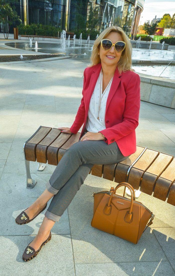 Jakie Buty Warto Miec W Swojej Szafie Prosperity By Renata Red Blazer Blazer Street Style Women