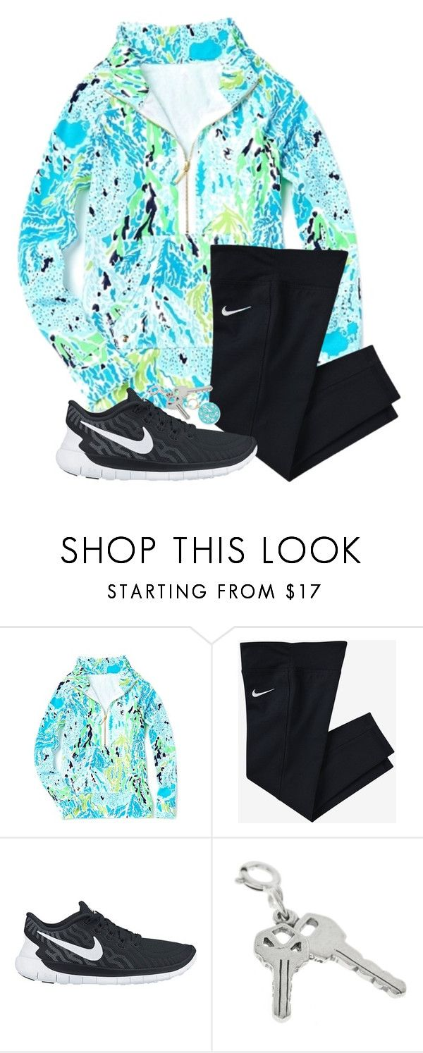 """""""Love this⬆️"""" by hgw8503 ❤ liked on Polyvore featuring Lilly Pulitzer, NIKE and Moon and Lola"""