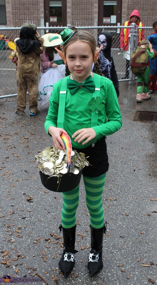 Leprechaun Girl Costume - 2014 Halloween Costume Contest