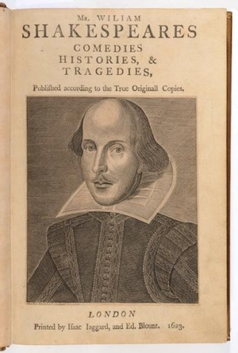 Shakespeare - Comedies, histories & tragedies - British Museum