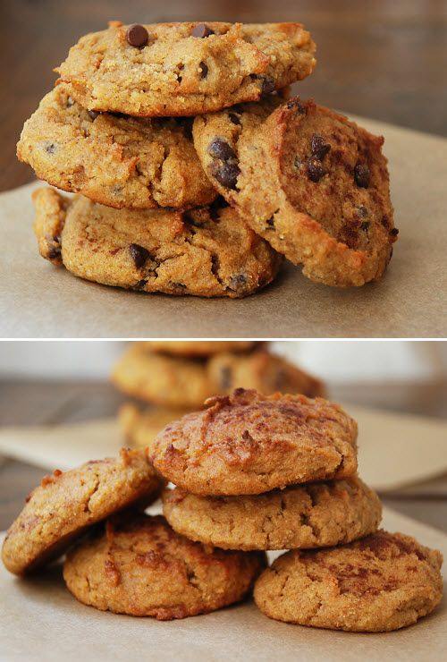 Paleo Pumpkin SpiceCookies (includes a recipe for paleo pumpkin ice cream to sandwich between the cookies!)