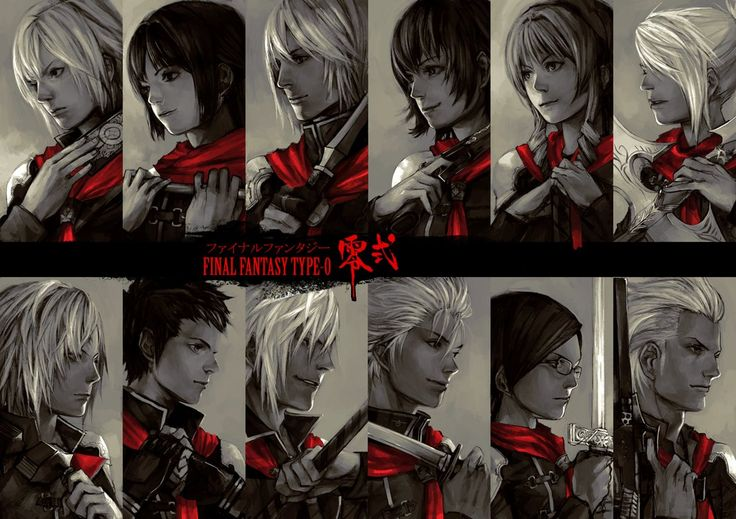 datworks: Final Fantasy type-0 by ~chisuuKei on deviantART