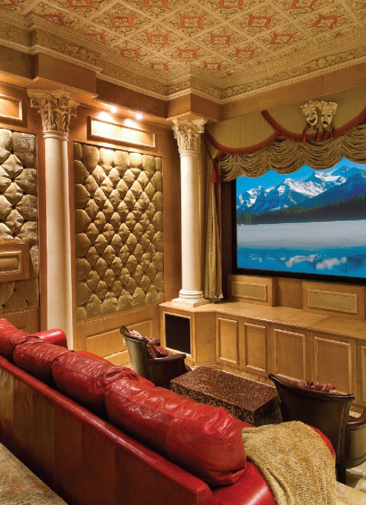 Luxury Living Room Home Theater Design For More Pictures Please Visit