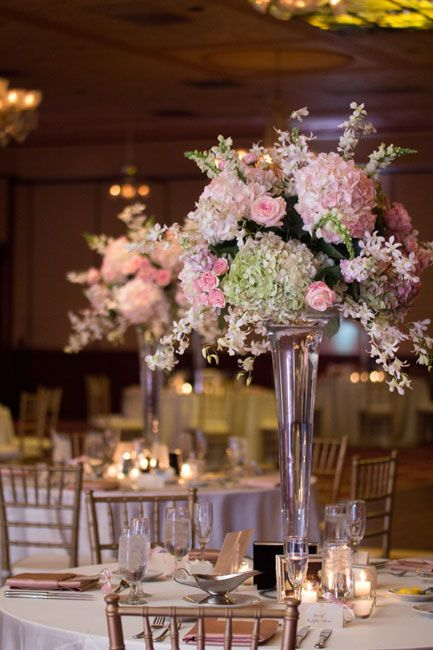 Best images about trumpet vase centerpiece styles on
