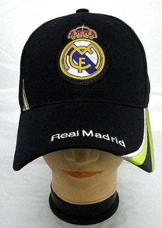 Amazon.com: REAL MADRID FOOTBALL CLUB OFFICIAL LOGO SOCCER ADJUSTABLE HAT CAP NAVY BLUE: Sports & Outdoors