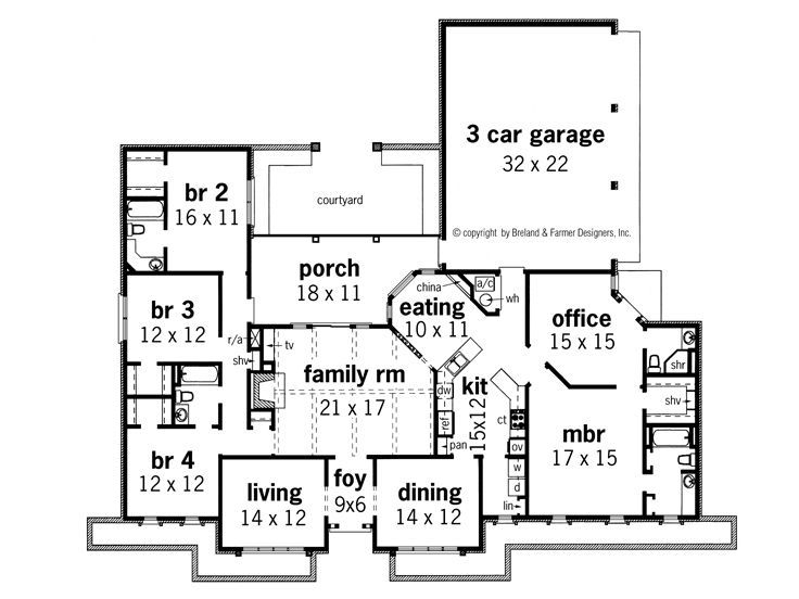 9744bc8b01416abd3526139dcadb9be5 Ranch House Floor Plans With Office on ranch floor plans 4 bedroom, barn floor plans with office, ranch floor plans family room, craftsman house plans with office, small house plans with office,