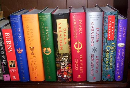Diana Gabaldon Outlander series - THE best books EVER!