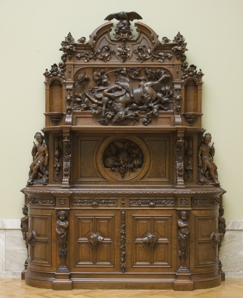 1855 American Sideboard At The Cleveland Museum Of Art, Cleveland   From  The Curatorsu0027 · Old FurnitureVictorian FurnitureVintage ...