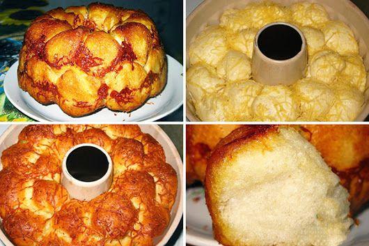 Бесподобный хлеб с сыром и чесноком . С умопомрачительным ароматом и чудесным вкусом! Советую непременно приготовить и насладиться всем. Пошаговый рецеп... - Стряпуха 2016 - Google+