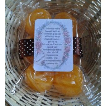 Arabian Sandalwood scented handmade soy wax melts