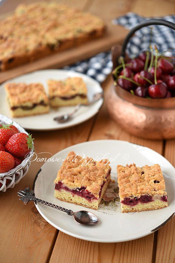 Ciasto kruche z owocami