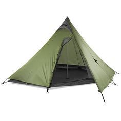 GoLite Shangri-La 5+ Tent - Ultralight Outdoor Gear - This is our next backpacking tent; though i think we will get the 3-person. these are nice and spacious and light.