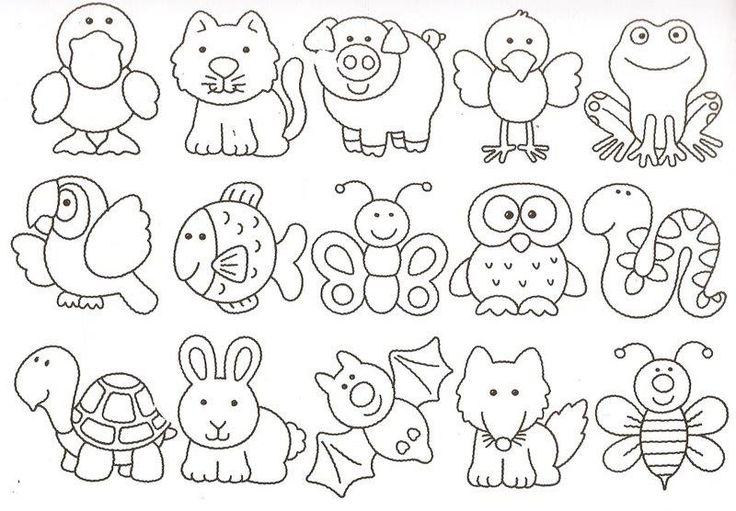 dibujos infantiles | patrones | Pinterest