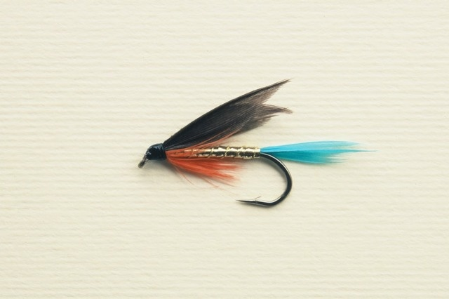 Kingfisher butcher wet fly for catching trout the art for Wet fly fishing