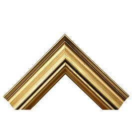 Wide Stylish Gold är en lite bredare ram med en fin patina och ytbehandling. Med sin bredd på hela 57 millimeter får du mycket fina ramar på väggarna som syns. Bredden och storleken gör också att modellen passar bra för lite större ramar. Bra falsdjup gör att du får plats med mycket innehåll som t.ex. standardkilramar. Den passar därför mycket bra till målningar på duk. Tillverkad av stavlimmad svensk furu. Wide Stylish Gold är en av våra populäraste modeller och storsäljare. Bredd: 57 mm…