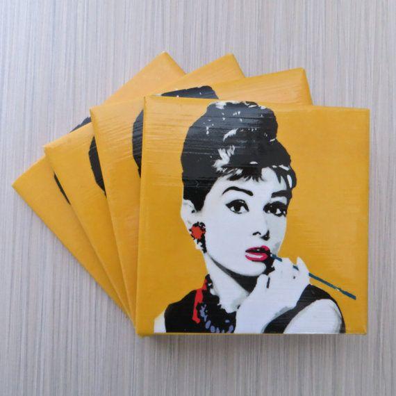 Audrey Hepburn Breakfast at Tiffany's Pop Art  by LUSHCoasterLand