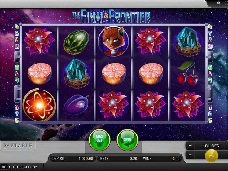 Jetzt spielen kostenlos online Spielautomaten Spiel The Final Frontier - http://freeslots77.com/de/the-final-frontier/