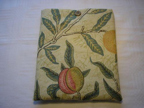 "William Morris ""Fruit"" cover for i-pad. from Jacaranda"