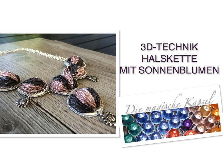 74 best images about jewelry from nespresso capsules on pinterest schmuck boucle d 39 oreille. Black Bedroom Furniture Sets. Home Design Ideas