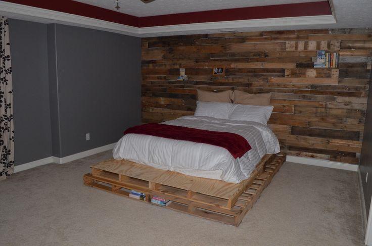 Best 25 Pallet Platform Bed Ideas On Pinterest Diy Bed
