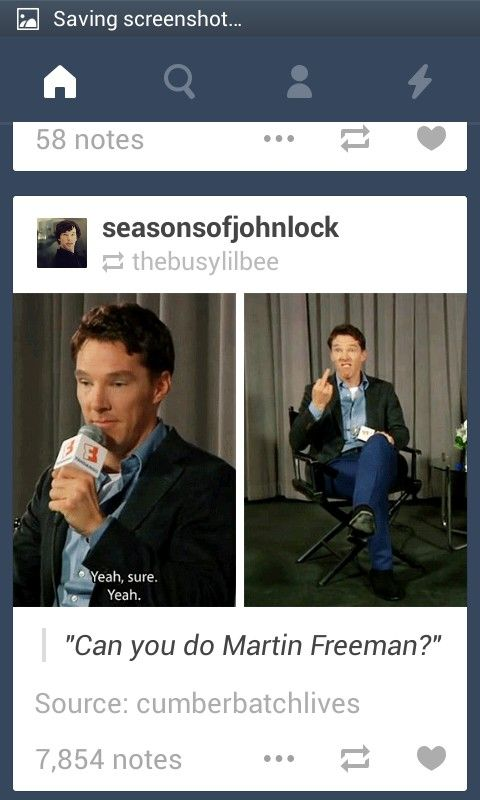 Benedict pulls a Freeman