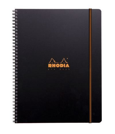 Rhodia Office Spiral Bound Notebook - A4 (21x30cm) - Probook