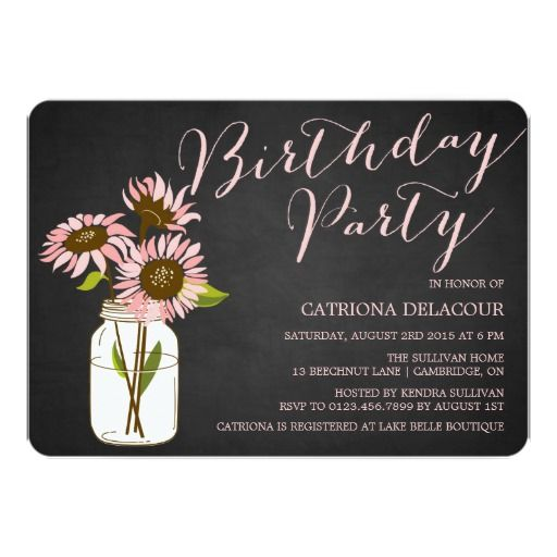 400 best images about sunflower birthday party invitations on pinterest