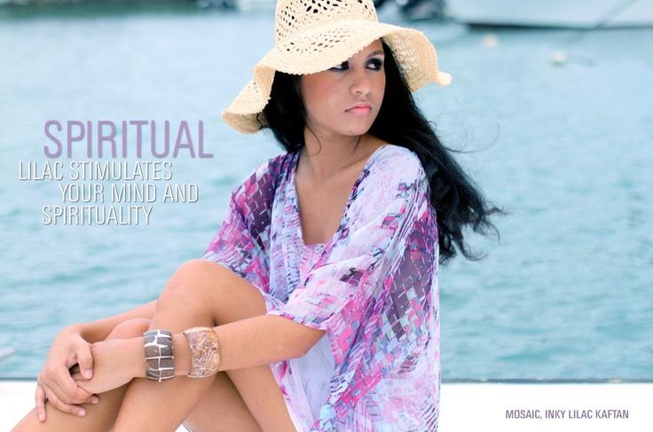 SPIRITUAL - Lilac stimulates your mind and spirituality.
