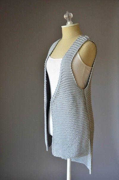 #Free Universal Yarn #Pattern : Hi Lo #Vest http://universalyarn.com/patterns/1019.pdf