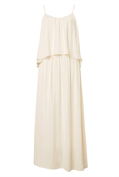 #witcherywishlist  #summer Strappy Tiered Maxi Dress