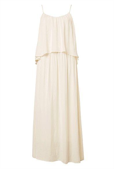 Strappy Tiered Maxi Dress #witcherywishlist