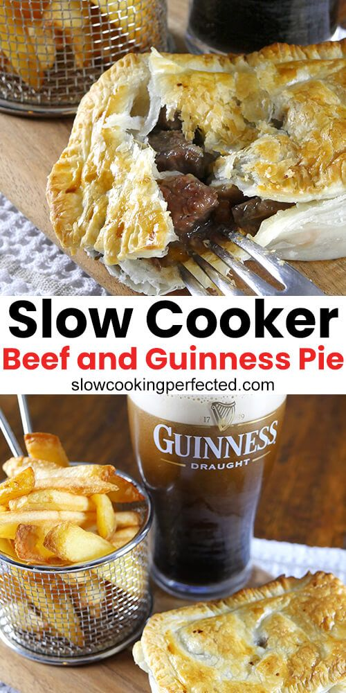 Slow Cooker Beef and Guinness Pie Filling   Recipe in 2020 ...