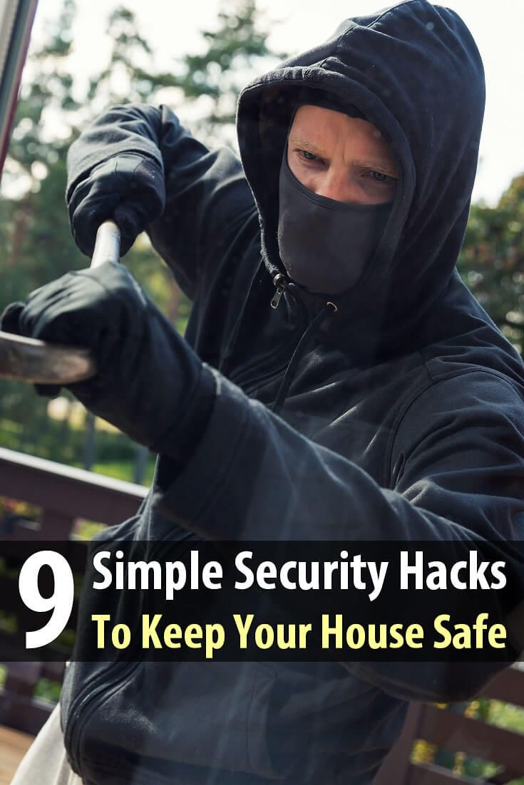 Your preps will be for nothing if someone takes them. Here are 9 security hacks that will make it harder for looters to get into your home.