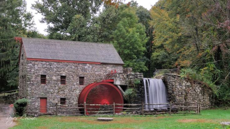 Grist Mill, Sudbury, Massachusetts