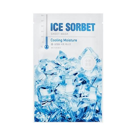 [MISSHA] Ice Sobert Sheet Mask 5 PCS  (Cooling Moisture)