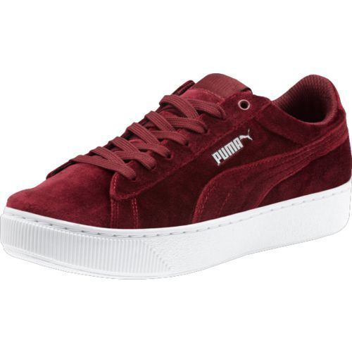 Puma Women's Vikky Platform Shoes (Maroon, Size 10) - Women's Athletic Lifestyle Shoes at Academy Sports