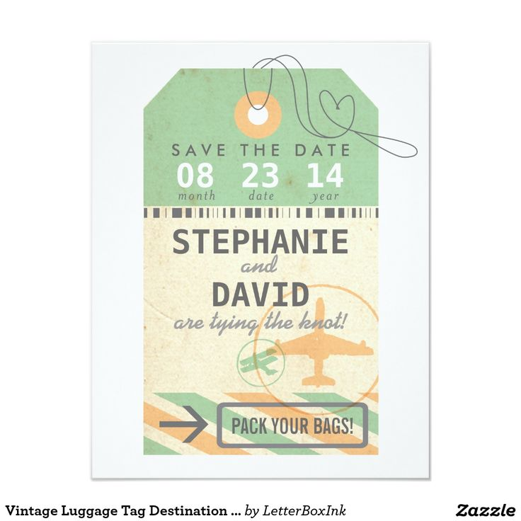 The 25+ best Vintage luggage tags ideas on Pinterest Old luggage - luggage tag template