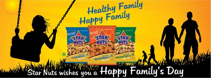 #InternationalDayofFamilies - #Happy #International #Family #Day From #StarNuts #India.