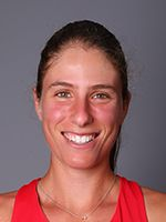 "Johanna Konta Residence: Eastbourne, England Date of Birth: 17 May 1991 Birthplace: Sydney, Australia Height: 5' 11"" (1.80 m) Weight: 154 lbs. (70 kg) Plays: Right-handed (two-handed backhand) Status: Pro"