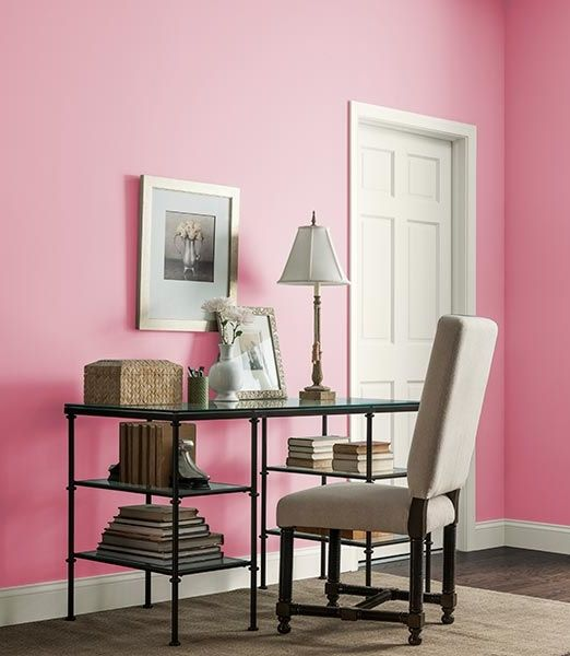 1000 images about color of the month rose quartz on pinterest ralph lauren paint colors and - Colors home office can enhance productivity ...