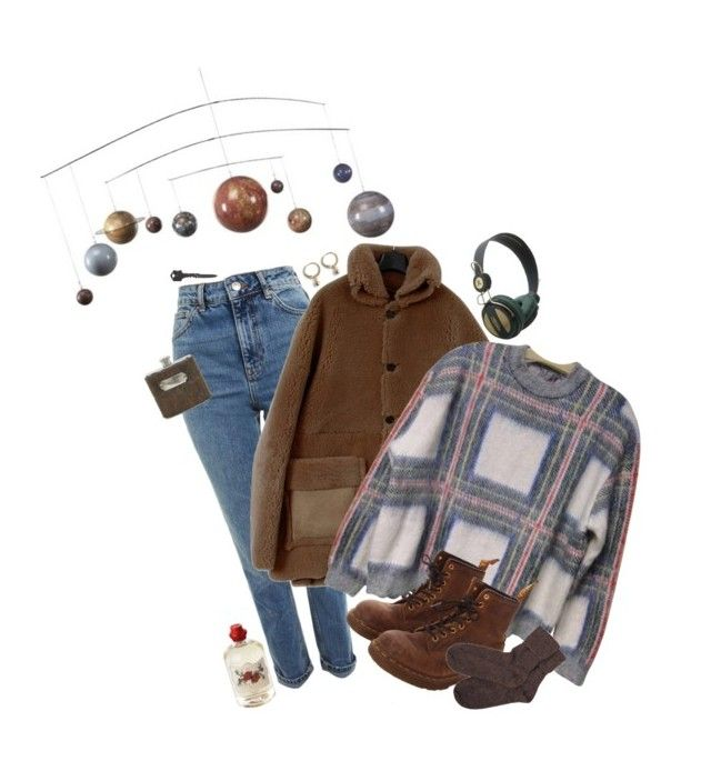 """""""the planets revolve around me"""" by americangarbage ❤ liked on Polyvore featuring Authentic Models, Topshop, STELLA McCARTNEY, Dr. Martens, WeSC, Jayson Home, Brora and Soap & Paper Factory"""