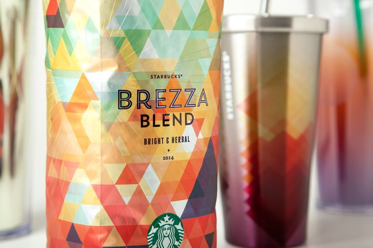 Starbucks® Brezza Blend — The Dieline - Branding & Packaging Design