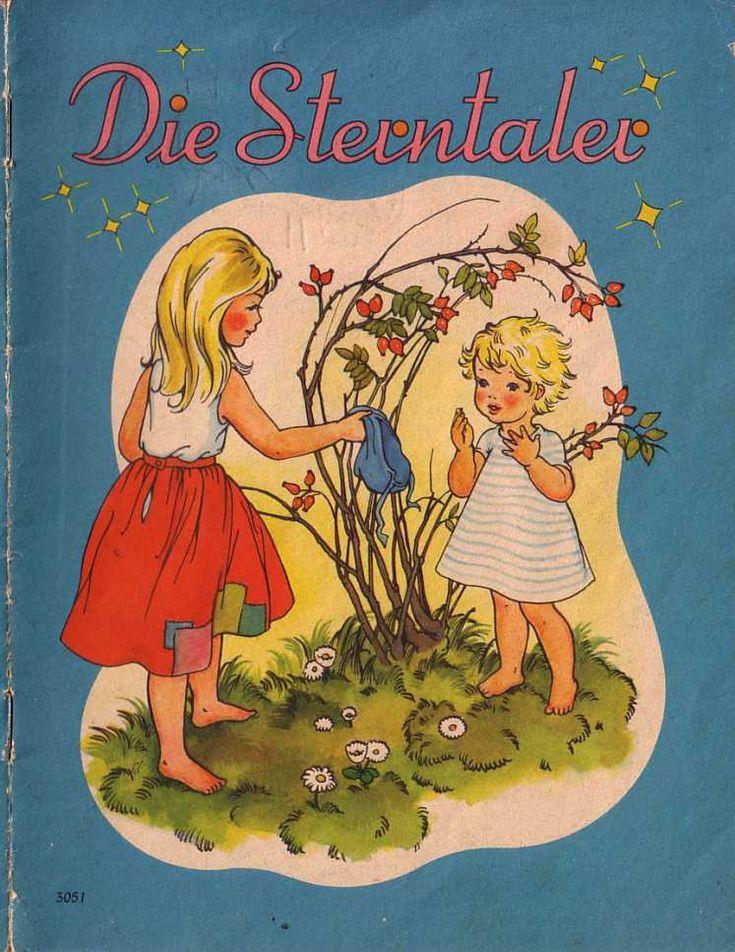 Die Sterntaler - Märchenbilderbuch 50er/60er - www.eichwaelder.de