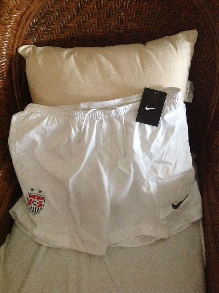 NIKE USA  RARE SOCCER SHORTS WHITE NEW WITH TAGS  SIZE M women | Sports Mem, Cards & Fan Shop, Fan Apparel & Souvenirs, Soccer-National Teams | eBay!