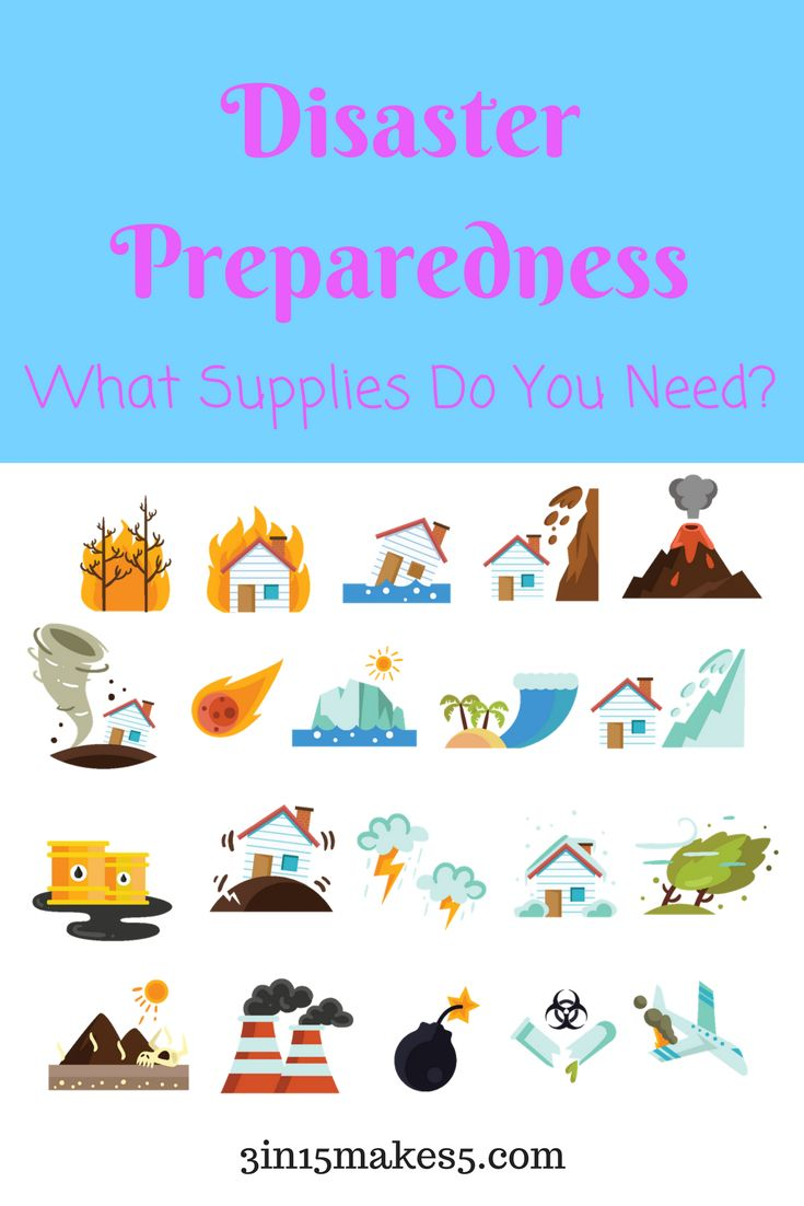 disaster preparedness - what supplies do you need? #disasterpreparedness #emergencypreparedness