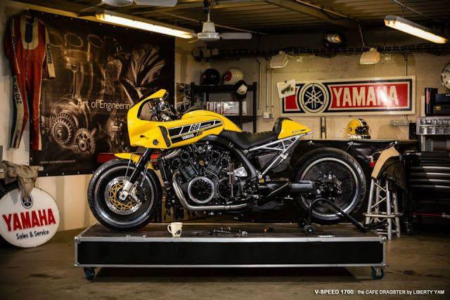 RocketGarage Cafe Racer: VMAX 'The V-Speed'