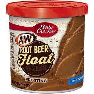 Betty Crocker A&W Root Beer Float Frosting, 16 oz